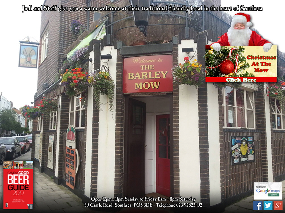 Welcome to the Barley Mow